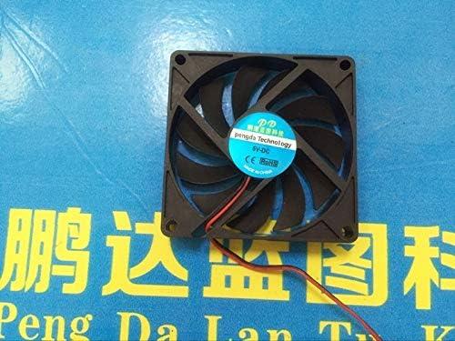 5 v 8 cm Computer USB Plug Set-top Box Router Mute Cooling Small Fan REFIT New 8015 cm
