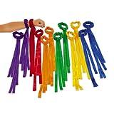 Rainbow Wrist Ribbons