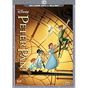 Peter Pan (Two-Disc Diamond Edition Blu-ray/DVD Combo in DVD Packaging) (1953)