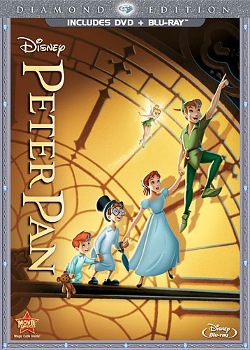 Peter Pan (Two-Disc Diamond Edition Blu-ray/DVD Combo in DVD Packaging) (Diamond Edition Disney)