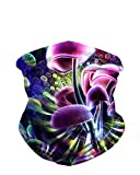 iHeartRaves Trippy Mushrooms Journey Seamless Mask Rave Bandana