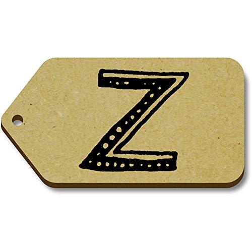 Geschenk X 34mm Kleine letters' Azeeda bagagelabels 10 'z 66mm tg00004334 w05pRcTqx