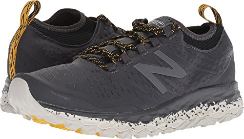 New Balance Men's Hierro V3 Fresh Foam Trail Running Shoe, Grey/Black, 13 D US