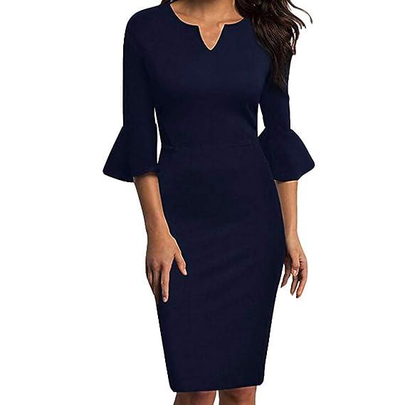 a5db94358 Mosstars Vestidos de Fiesta Mujer Tallas Grandes Vestido lápiz ...