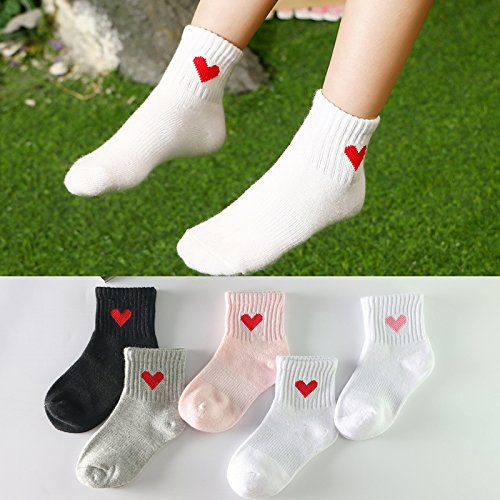 6b089b890132 XIU RONG Children 3-5-7-9-12 Years Old Baby Girl Tube Socks Socks ...