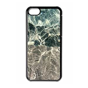 Iphone 5C Case, water reflections Case for Iphone 5C Black