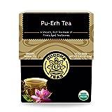 Organic Pu Erh Tea - Kosher, Contains Caffeine, GMO-Free - 18 Bleach-Free Tea Bags