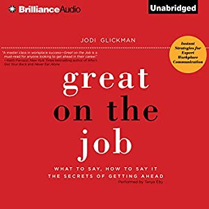 Great on the Job Audiobook
