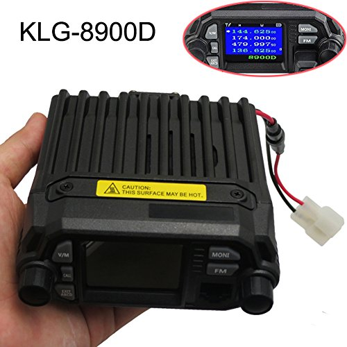 - Mini Color Screen Quad Standby 25W HF VHF UHF Mobile Radio Transceiver