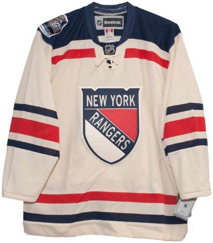 New York Rangers 2012 Winter Classic Men's Premier Jersey (XXL) -  Reebok, 7212