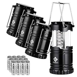 Etekcity Portable LED Camping Lantern - 4 Pack