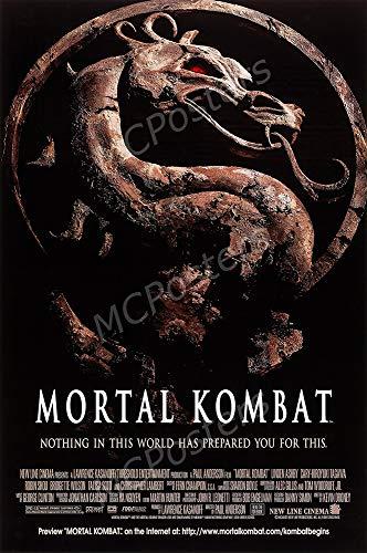MCPosters - Mortal Kombat 1995 Glossy Finish Movie Poster - MCP927 (24