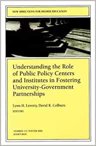 the role of government in fostering Eds, meds, and the feds how the federal government can foster the role of anchor institutions in community revitalization by tracey ross posted on october 24, 2014, 10:00 am.