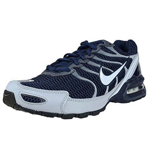 Nike AIR MAX Torch 4 Obsidian Blue Grey White Mens Running Shoe 343846 411