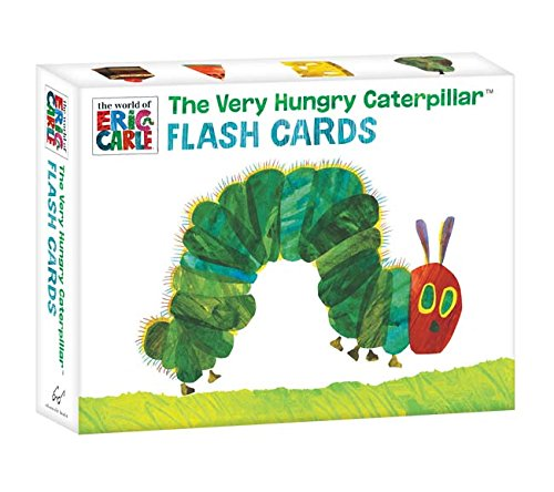 The Very Hungry Caterpillar Flash Cards (The World of Eric Carle)