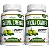 Garcinia Cambogia Weight Loss Supplement - 95% HCA Plant Based Pure Extract Fat Burner Diet Pills Appetite Suppressant Energy Booster for Health and Wellness Made in the USA, 2 Bottles 180 Capsules