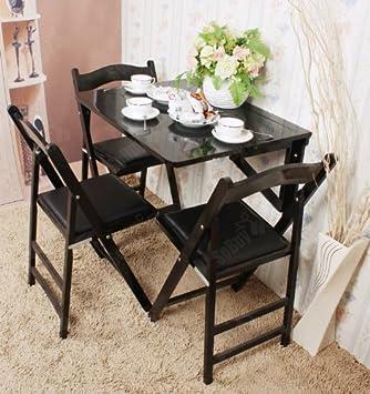 Table /à rabat pour enfant pliable L60cmxP40cm Table murale rabattables Table de cuisine pliante Transparent SoBuy/® FWT03-N Bureau enfant