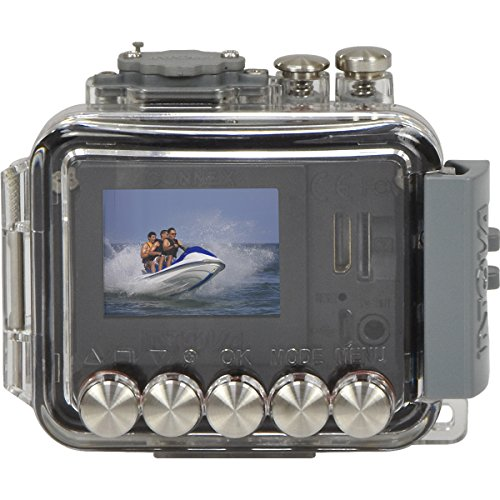 Intova Connex 1080p HD Waterproof Video Action Camera Camcorder (200 ft/ 60m) with 32GB Card + Floating Strap + Flex Tripod + HDMI Cable + Kit by Intova (Image #2)