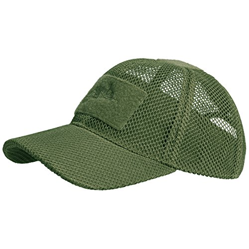 (HELIKON-TEX Headgear, Baseball Mesh Cap Olive Green)