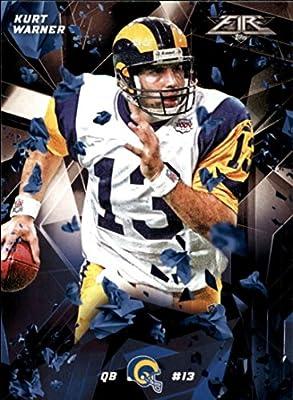 Football NFL 2015 Fire #42 Kurt Warner NM-MT Rams