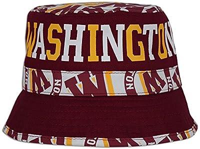 Washington Sports Fan Custom Print City Name Bucket Hat Adult One Size