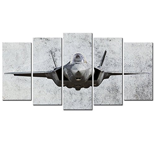 - Sea Charm Vintage Fighter Airplane Canvas Prints Wall Art for Living Room Home Decor Large Painting Framed Ready to Hang