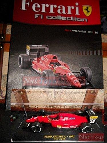 Ferrari F1 Collection F92 A 1992 Ivan Capelli Model +BOX +fas ...