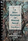 A Basic Handbook of Writing Skills : Instructor's Manual, Besser, Pam, 1559340320