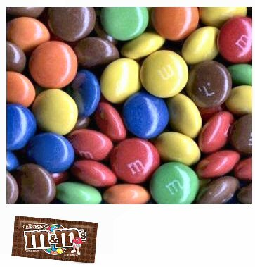 M&M's Plain Milk Chocolate Candy - 35 Lbs