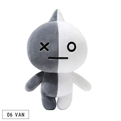 FANMURAN 30CM KPOP BTS Plush Toy BT21 Rabbit Dog Standing Doll Gift VAN