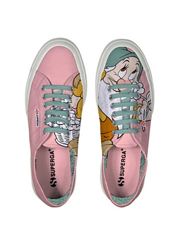Le Superga - Cartoon 2750-disney Mammolcobw MAMMOLO PINK
