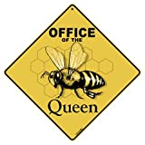 Office of Queen Crossing 12'' X 12'' Aluminum Sign