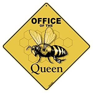 "Office of Queen Crossing 12"" X 12"" Aluminum Sign"