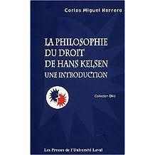 Philosophie et droit de Hans Kelsen