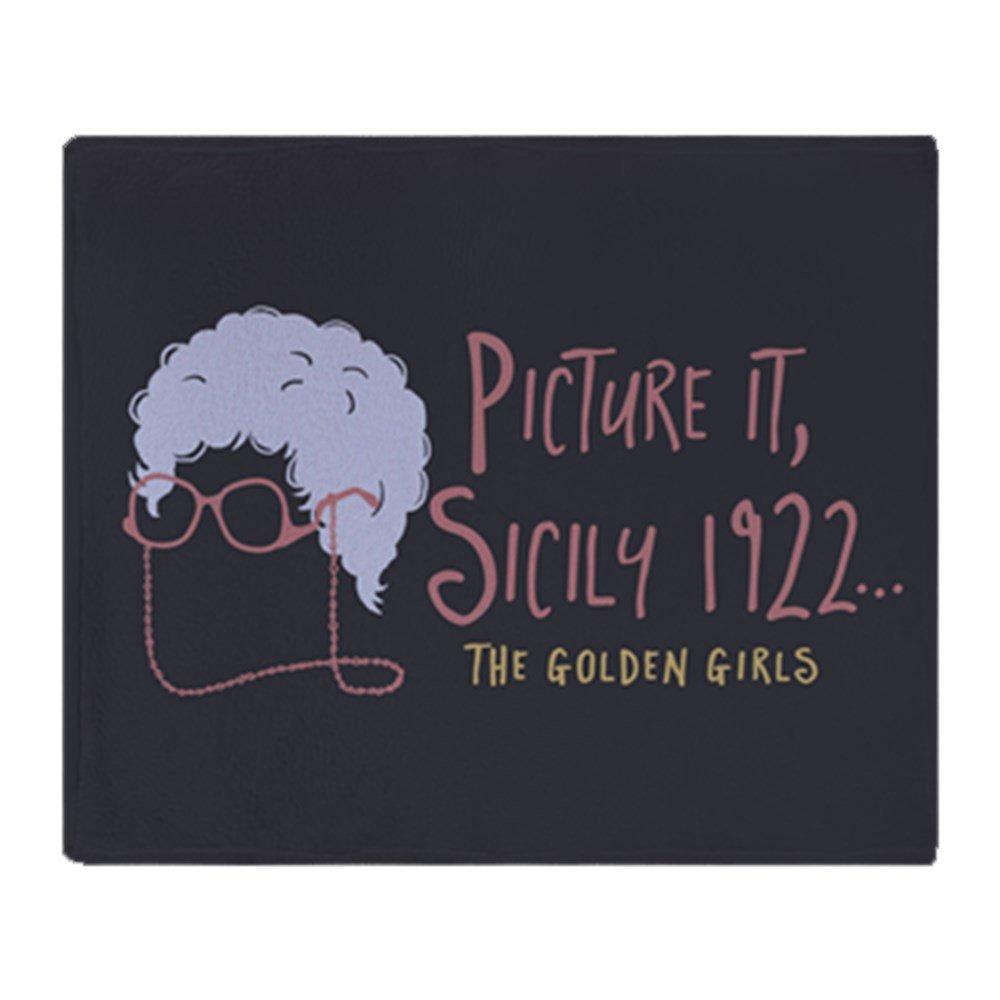 CafePress - Golden Girls Picture It - Soft Fleece Throw Blanket, 50''x60'' Stadium Blanket
