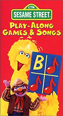 Amazon com: Sesame Street - Play-Along Games and Songs [VHS