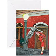 CafePress - Something To Sing About - Greeting Card, Note Card, Birthday Card, Blank Inside Matte