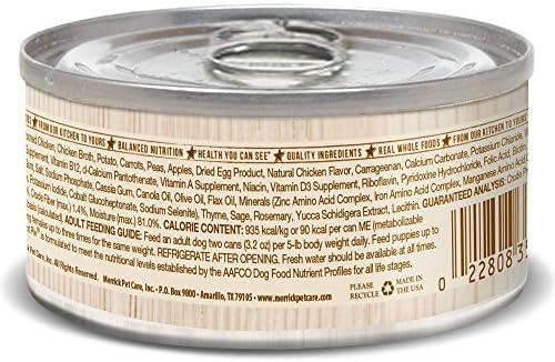 Merrick Classic 3.2-Ounce pequeña Maceta de Raza Grammy de pie Perro Alimentos, 24 Count