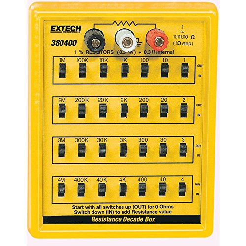 Extech 380400 Resistance Decade Box by Extech