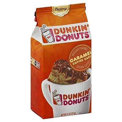Dunkin' Donuts Bakery Series Ground Coffee, Caramel Coffee Cake, 11 oz by J.M. Smucker Company