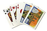 Comical Military Cartoon - Soldier Complaining about his Uniform (Playing Card Deck - 52 Card Poker Size with Jokers)