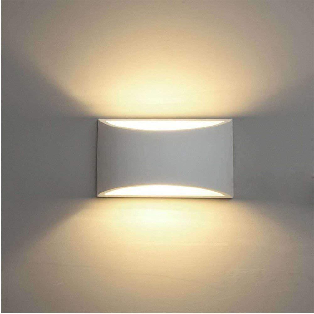 BXJ ウォールライトLED上下屋内ランプ暖かい白7ワット現代のシンプルなアルミニウム廊下の壁ランプリビングルームのベッドルームベッドサイドダイニングルームバルコニーホテルプロジェクトウォールライト B07R8LHNB3