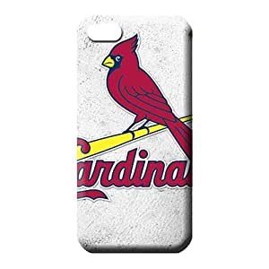 diy zhengiphone 5/5s case Back High Quality mobile phone carrying skins st. louis cardinals mlb baseball
