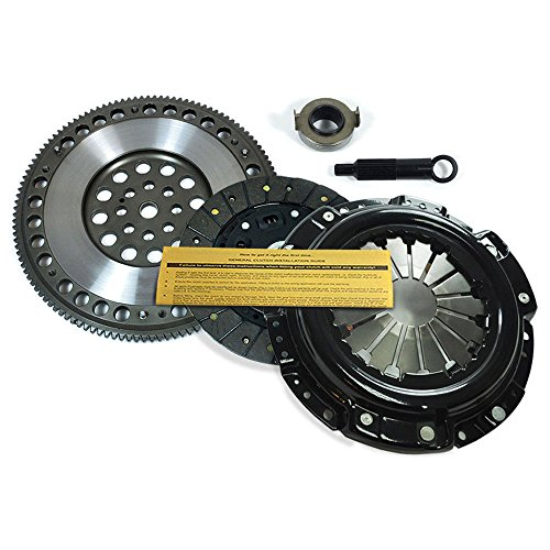 (EFT XTREME HDSS CLUTCH KIT+CHROMOLY RACE FLYWHEEL for ACCORD PRELUDE CL 2.2L 2.3L)