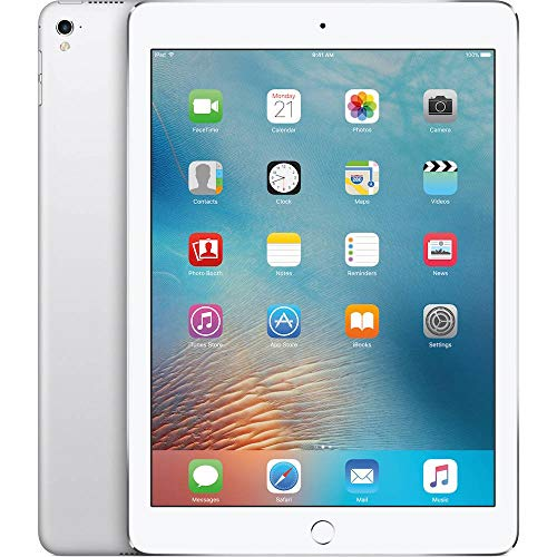 Apple iPad Pro Tablet (128GB, Wi-Fi, 9.7 inch) Gray (Renewed)