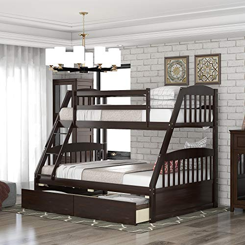 Solid-Wood-Twin-Over-Full-Bunk-Beds-with-2-Storage-Drawers-Danxee-Bunk-Beds-for-Kids-with-Ladder-and-Guard-Rail-Espresso