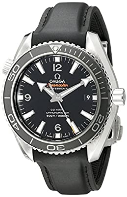 Omega Men's 23232422101003 Analog Display Swiss Automatic Black Watch