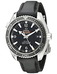 Omega Men's 23232422101003 Analog Display Swiss Automatic Black Watch