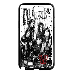 Custom High Quality WUCHAOGUI Phone case BVB - Black Veil Brides Music Band Protective Case For Samsung Galaxy Note 2 Case - Case-19