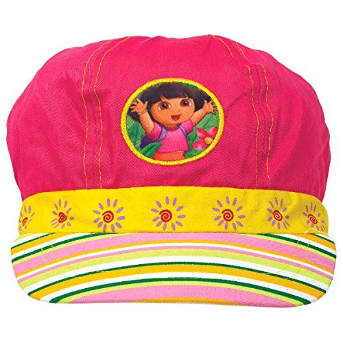 amscan Colorful Dora The Explorer Birthday Party Deluxe Fabric Hat Wearable Supply Favor (1 Piece), 5 1/2